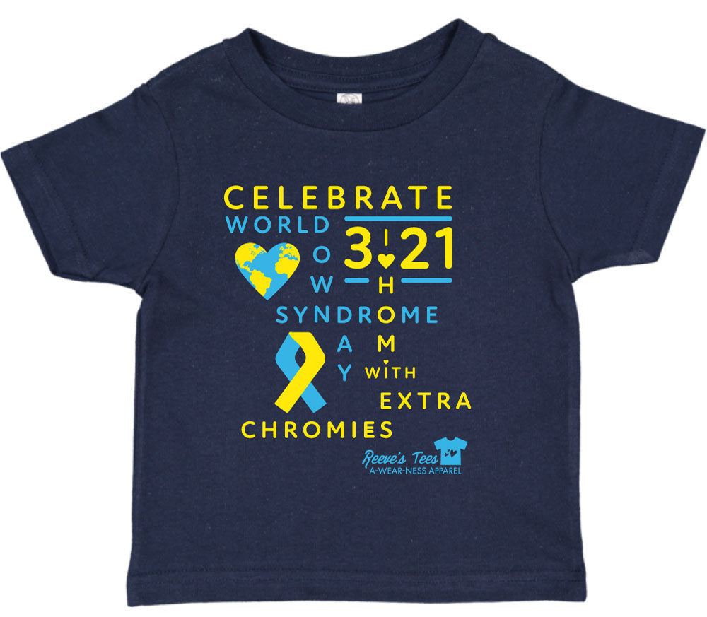 WDSD - World Down Syndrome Day - Adult, Ladies, Youth, Toddler Tees
