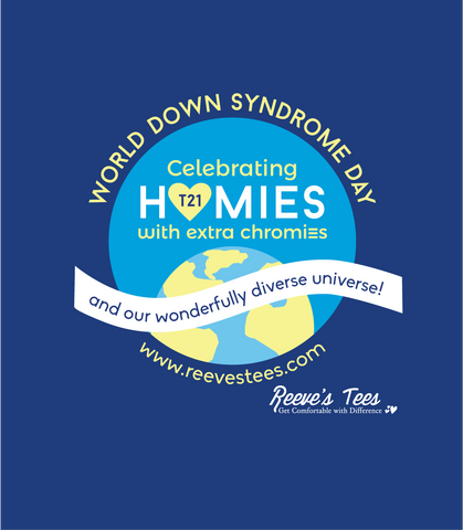 World Down Syndrome Day - Toddler, Youth, Ladies & Adult