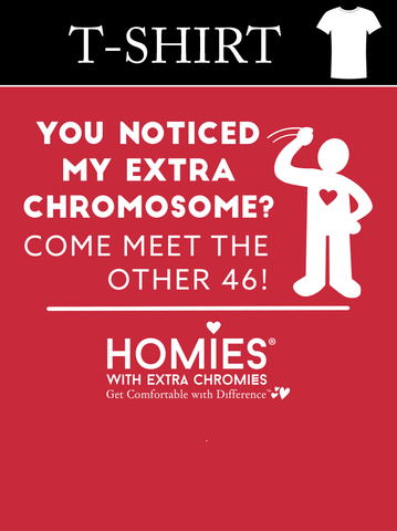 """You Noticed My Extra Chromosome? - Come Meet The Other 46!"" - Toddler - Short Sleeve Tees"