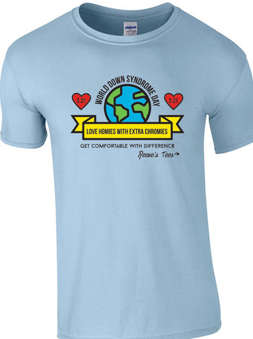 WDSD - World Down Syndrome Day - Infant, Toddler, Youth & Adult - Short Sleeve Tee