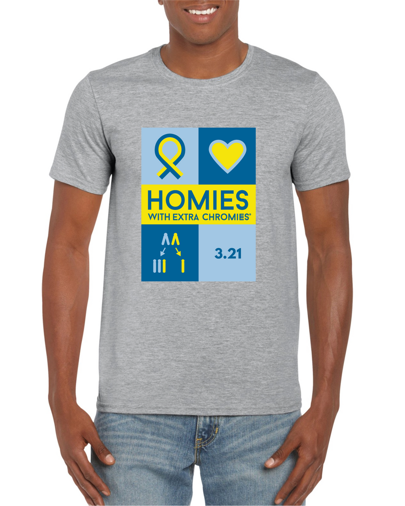 HWEC - Down Syndrome Awareness - Adult - Short Sleeve Tee