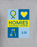 HWEC - Down Syndrome Awareness - Adult - Long Sleeve Tee