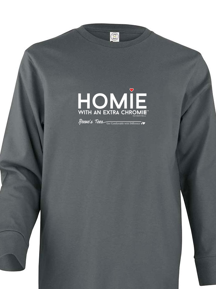HWEC - Homie with an Extra ChromieTM - Youth - Long Sleeve - Colored Tee