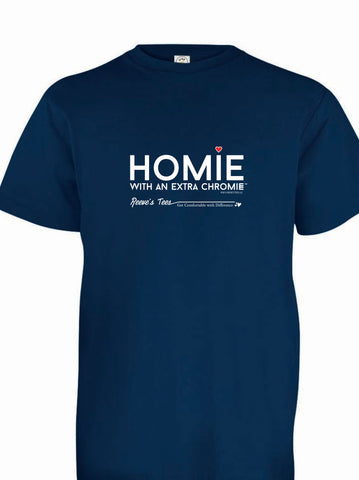 HWEC - Homie with an Extra Chromie (For the Homie) - Youth - Short Sleeve - Colored Tee