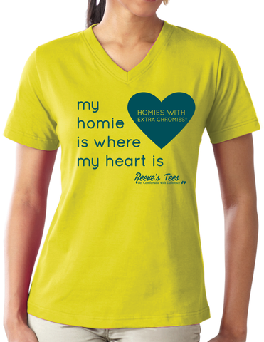HWEC - Matching Tees - My Homie is Where My Heart Is - For Supporters