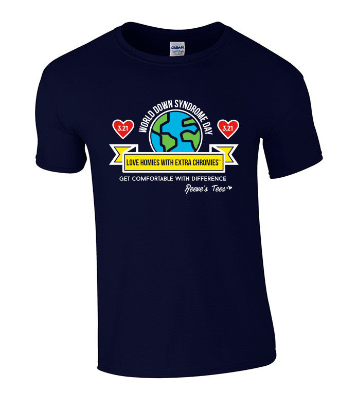 WDSD - World Down Syndrome Day - Adult - Short Sleeve Tee
