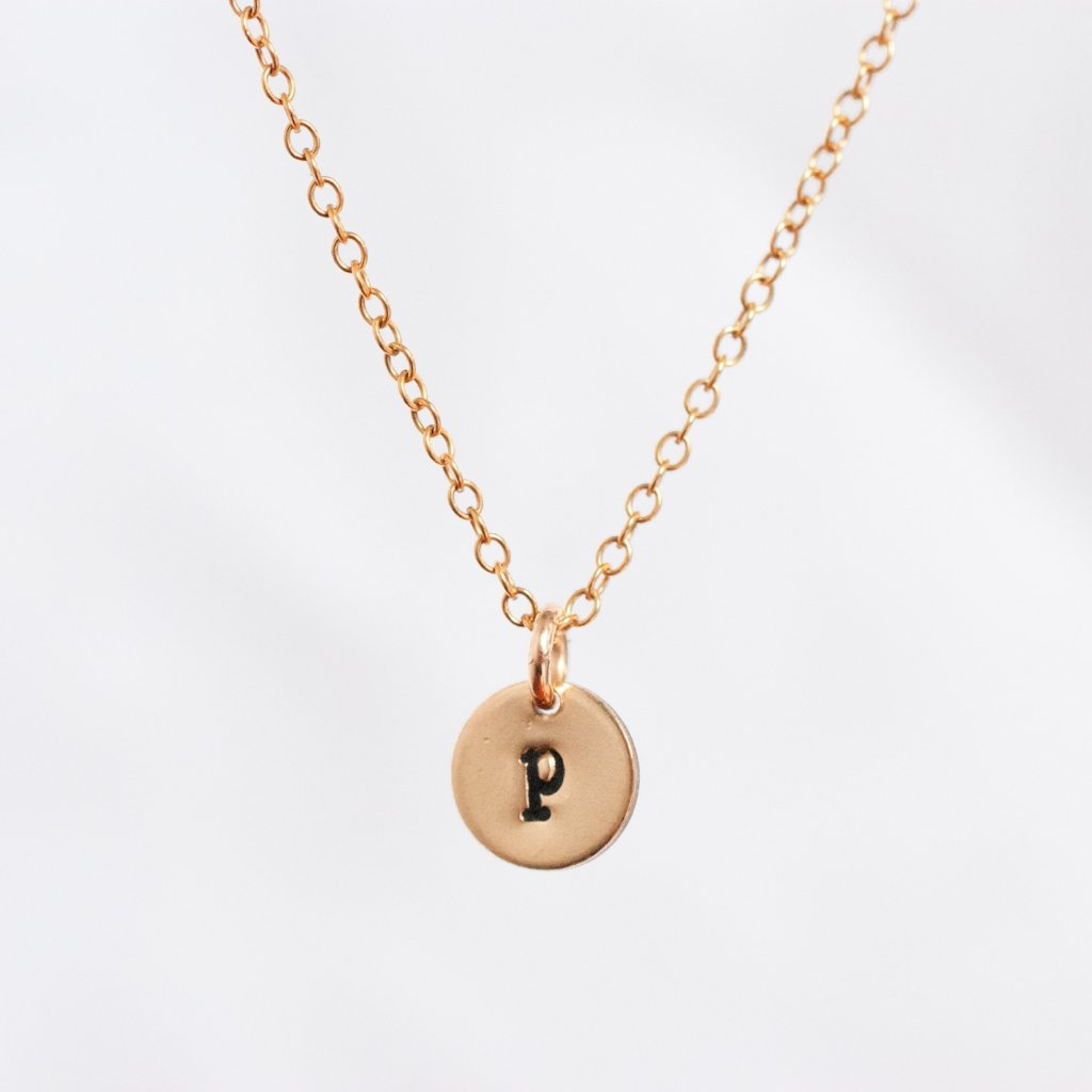 Wear My Initial Necklace