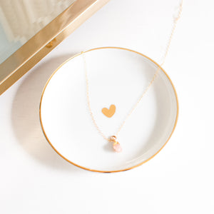 Heart to Heart Jewelry Dish