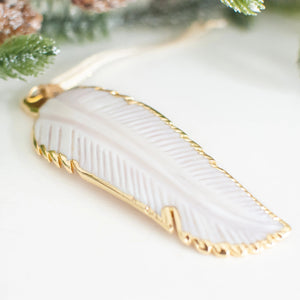In Memory Feather Ornament