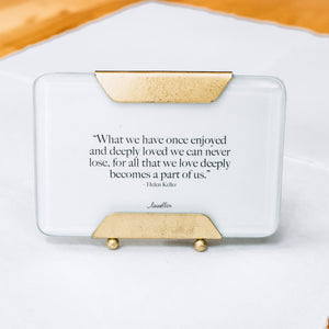 Deeply Loved Photo Frame