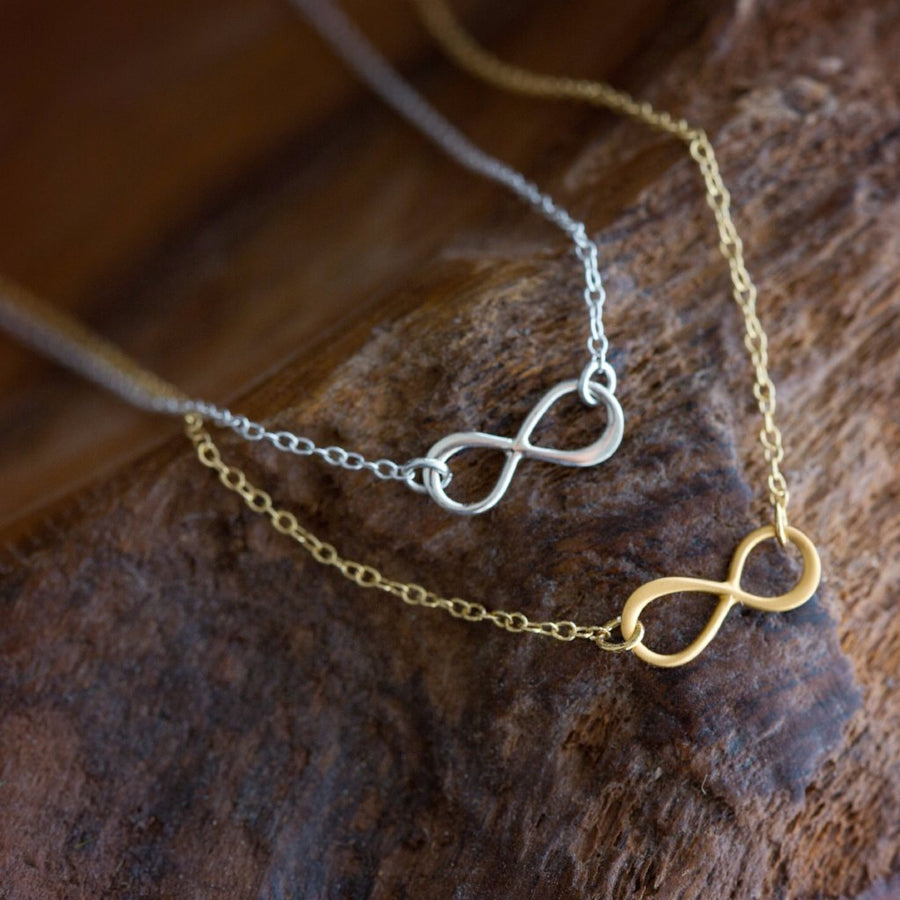 Remembered Forever Infinity Necklace