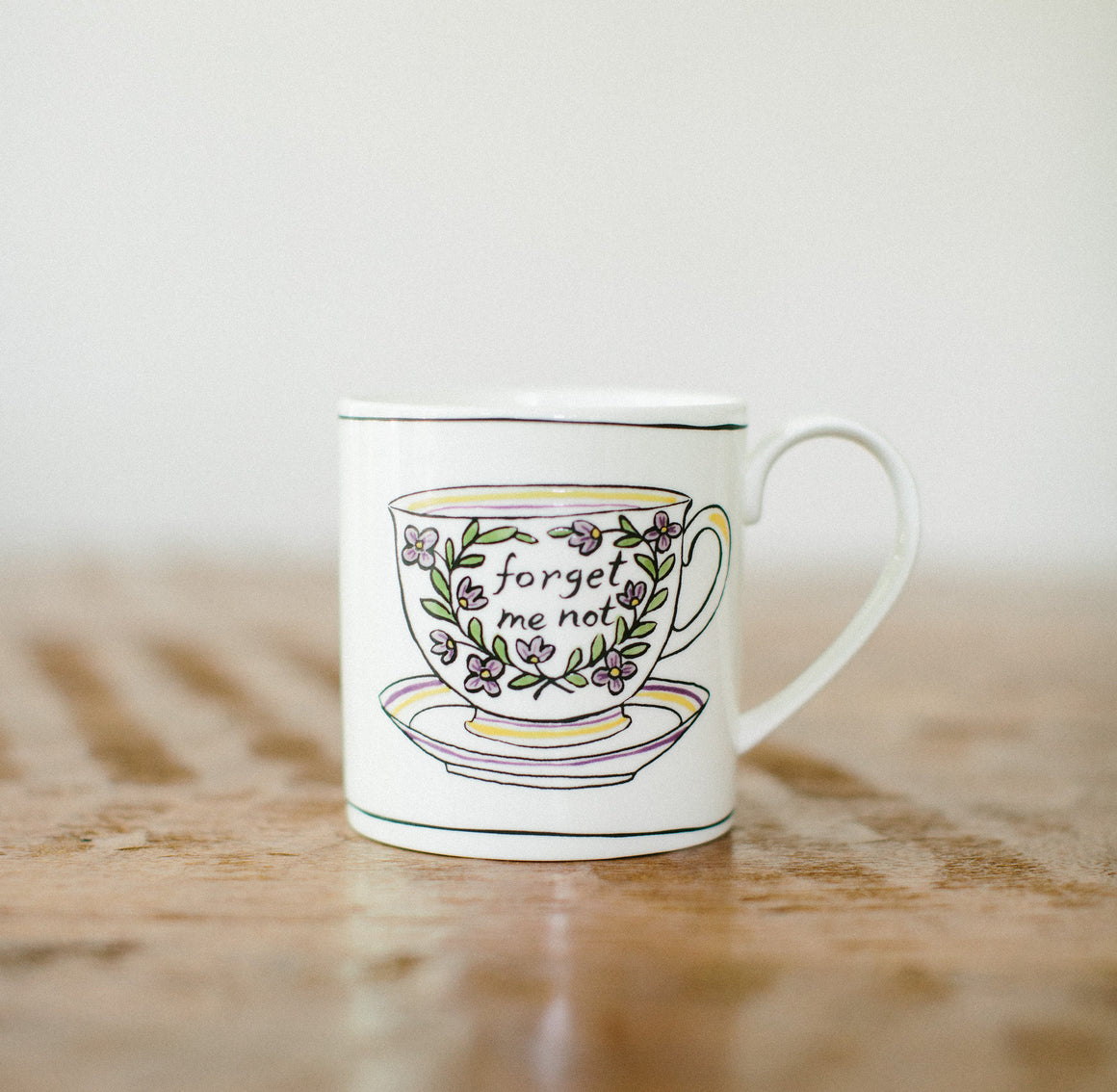 Forget Me Not Mug