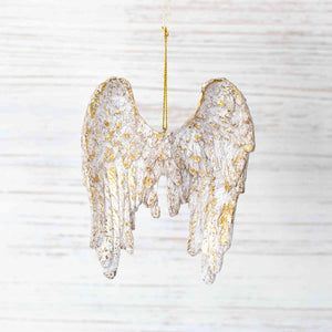 On Angel's Wings Ornament