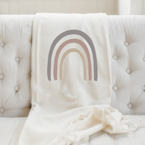 Rainbow Home Throw
