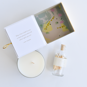 Light in Dark Places Candle Set