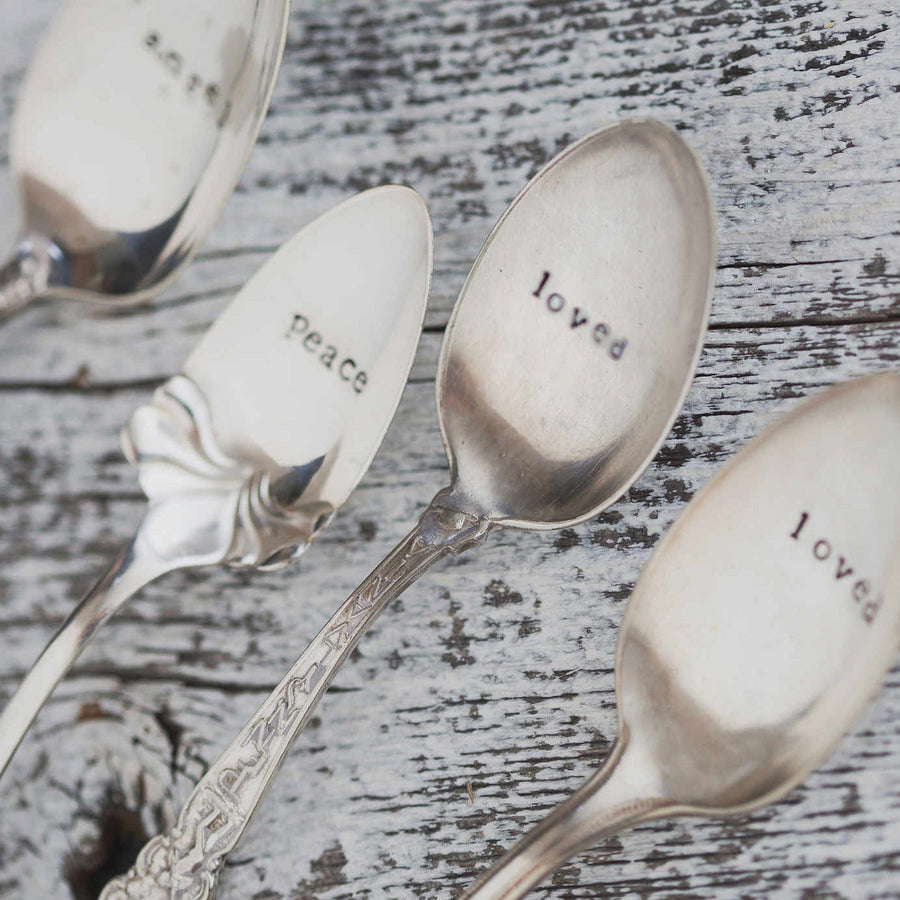 Words of Memory Vintage Spoon
