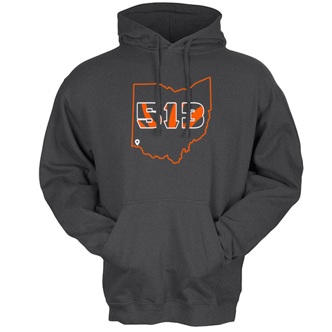 513 Football hoodie - 513shirts.com / Cincinnati Shirts