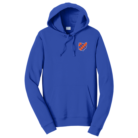 Diamond Ohio hoodie - royal - 513shirts.com / Cincinnati Shirts