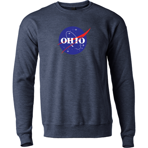 OHIO Space Agency crewneck sweatshirt - 513shirts.com / Cincinnati Shirts
