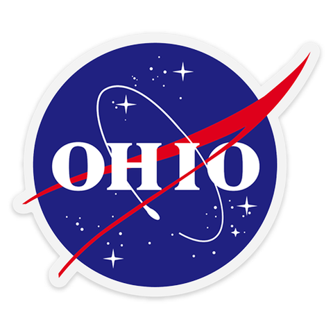 OHIO Space Agency sticker - 513shirts.com / Cincinnati Shirts