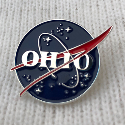 OHIO space agency lapel pin - 513shirts.com / Cincinnati Shirts