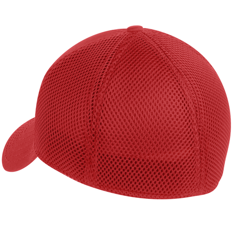 Bearcat Journal logo New Era 39Thirty hat - red