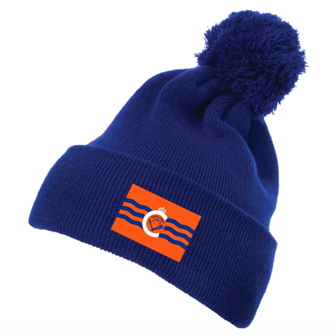 City of Cincinnati flag beanie - orange - 513shirts.com / Cincinnati Shirts