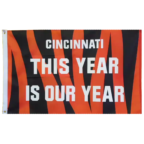THIS/NEXT Year is Our Year flag