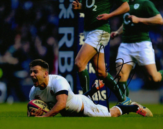 Danny Care Genuine Hand Signed 10x8 Photo England Rugby (2328)