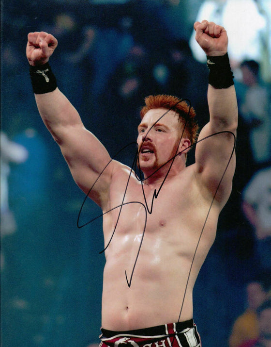 SHEAMUS SIGNED 10X8 PHOTO (WWE) AUTOGRAPH AFTAL COA (7068)