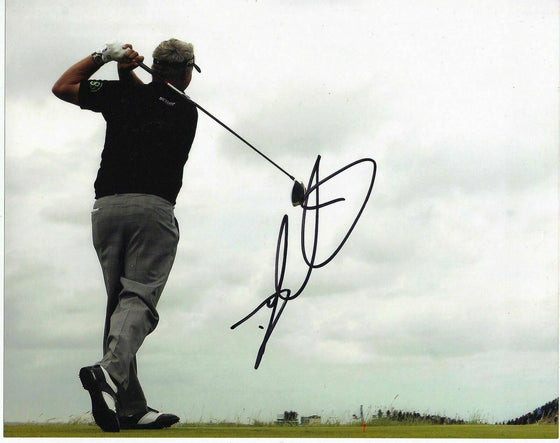 Darren Clarke Genuine Hand Signed 10x8 Photo Open Championship 2011 (3013)