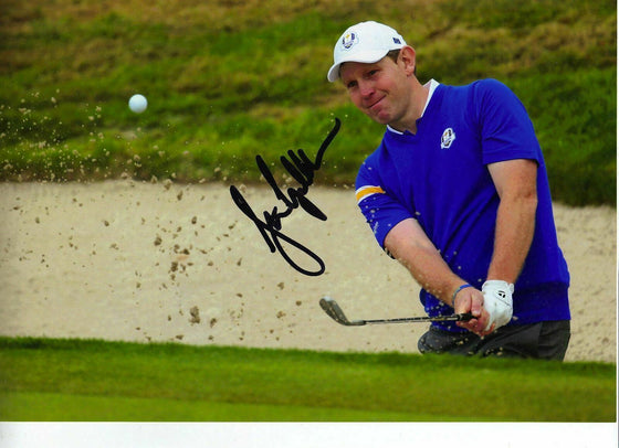 Stephen Gallacher Signed Autograph 12X8 Photo 2014 RYDER CUP WITH PROOF (3161)