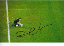 Dan Carter Signed 12X8 Photo ALL BLACKS 2015 RUGBY WORLD CUP AFTAL COA (2149)