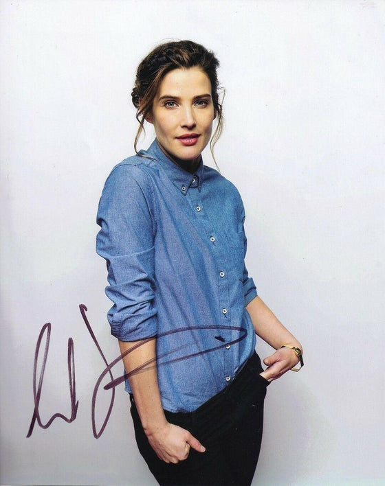 Cobie Smulders Signed 10X8 Photo Genuine SEXY IMAGE Genuine AFTAL COA (5365)