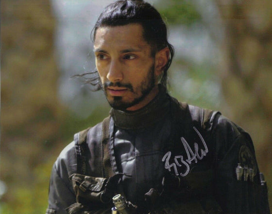 Riz Ahmed Signed 10X8 Photo Rogue One: A STAR WARS Story AFTAL COA (5165)