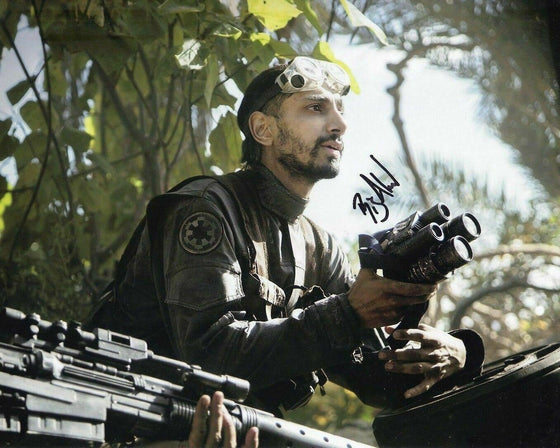 Riz Ahmed Signed 10X8 Photo Rogue One: A STAR WARS Story AFTAL COA (5435)