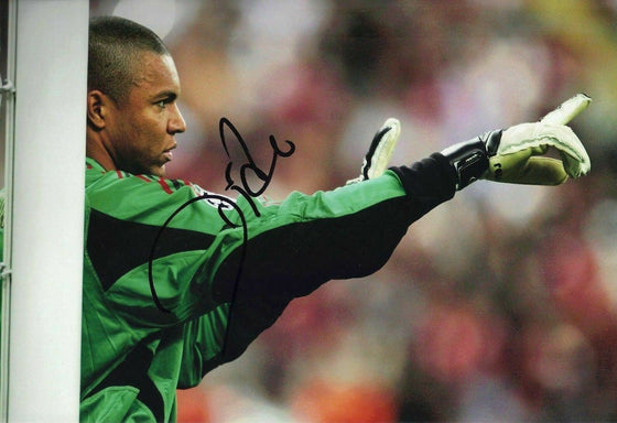Dida SIGNED 12X8 PHOTO A.C. Milan & BRAZIL AFTAL COA (1616)