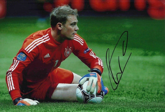 Manuel Neuer Signed 8X12 Photo BAYERN MUNICH & GERMANY AFTAL COA (1706)