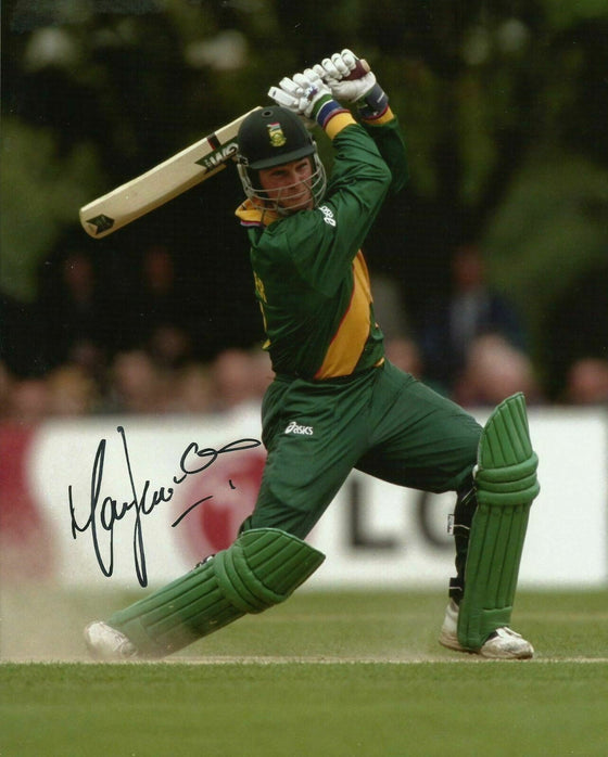Mark Boucher Signed 10X8 Photo SOUTH AFRICA CRICKET Legend AFTAL COA (2534)