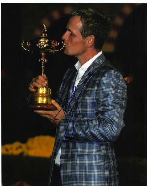 Luke Donald Genuine Hand Signed 10x8 Photo Ryder Cup 2012 (3018)