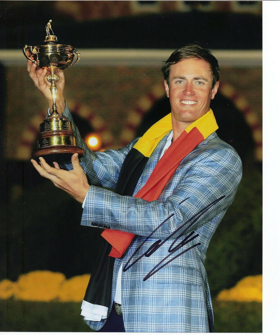 Nicolas Colsaerts Genuine Hand Signed 10x8 Photo Ryder Cup 2012 (3035)
