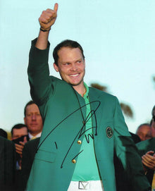 Danny Willett Signed 10X8 Photo 2016 MASTERS AFTAL COA (3025)