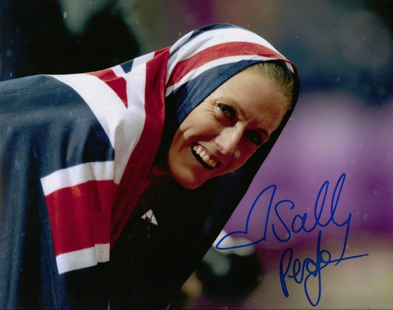Sally Pearson Genuine Hand Signed 10X8 Photo London 2012 AUSTRALIA