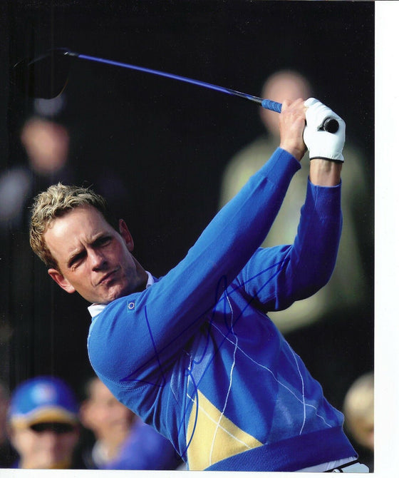 Luke Donald Signed 10X8 Photo Ryder Cup 2010 AFTAL COA (3004)