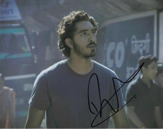 Dev Patel Signed 10X8 Photo Lion Genuine Signature AFTAL COA (7295)