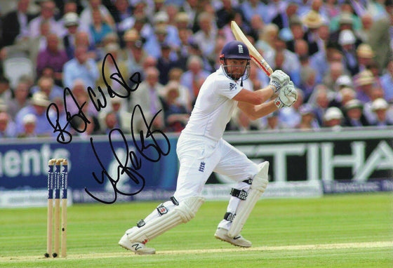 Jonny Bairstow Signed 12X8 Photo England Cricket AFTAL COA (2558)
