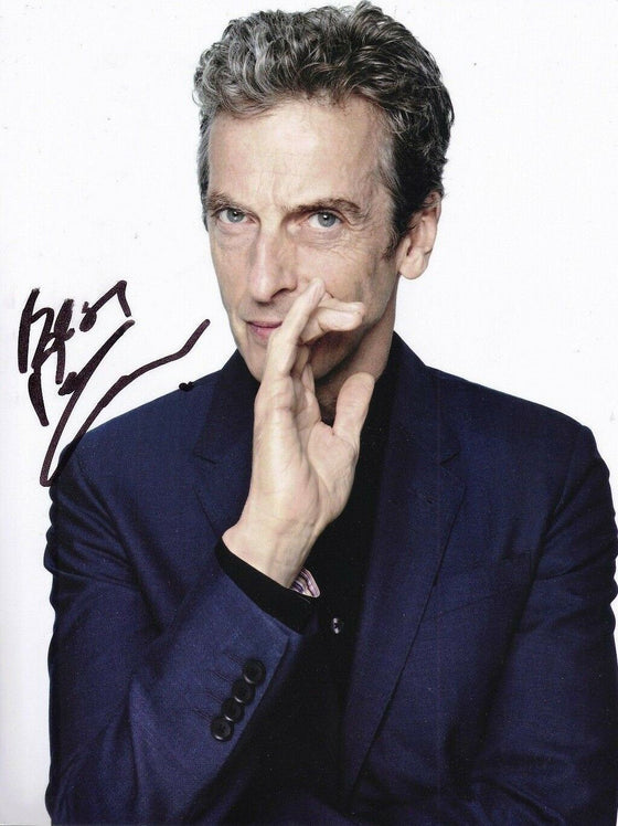 Peter Capaldi Signed 10X8 Photo DR WHO Genuine Autograph AFTAL COA (7351)