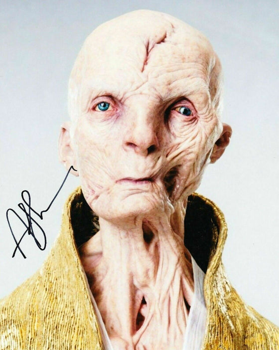 Andy Serkis Signed 10X8 Photo STAR WARS AFTAL COA (5541)