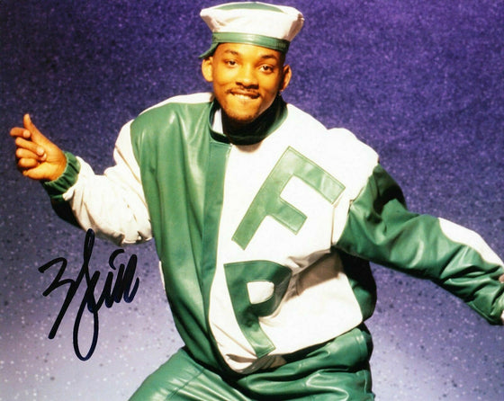 Will Smith Signed 10X8 Photo The Fresh Prince of Bel-Air AFTAL COA (5562)