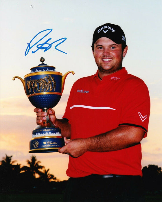 Patrick Reed Signed 10X8 Photo 2014 RYDER CUP HERO AFTAL COA (3058)